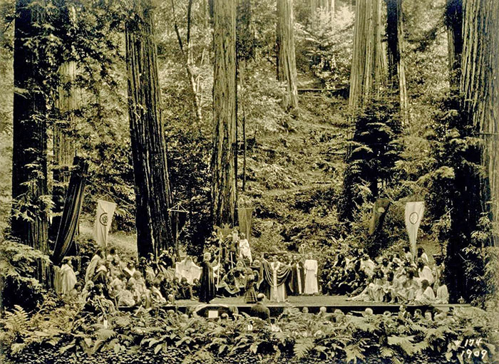 The Order of Skulls & Bones: Shocking Bohemian Grove Occult Pictures Rediscovered