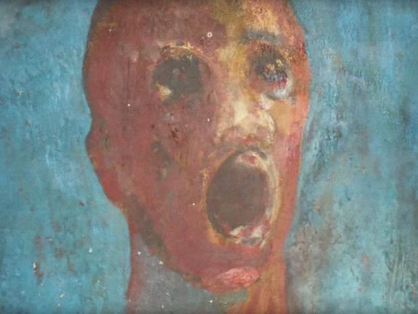 5 Haunted Paintings - The Anguished Man