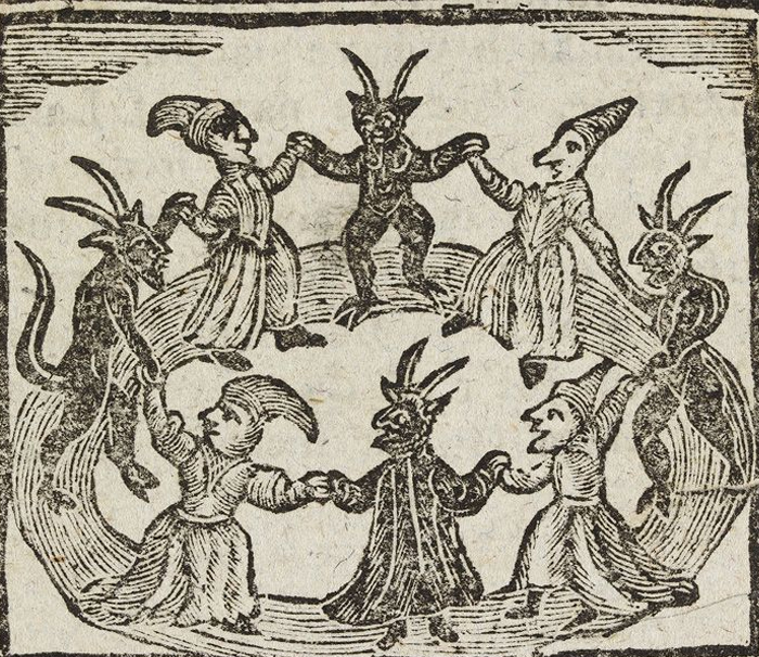 The witchcraft hysteria in the case of the infamous salem trials